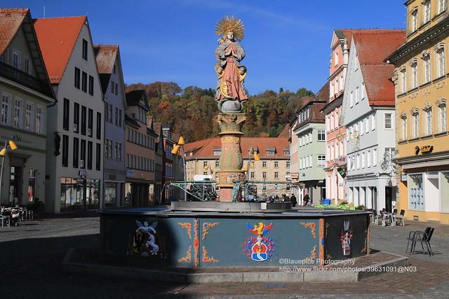 Schwäbisch Gmünd, Marienbrunnen