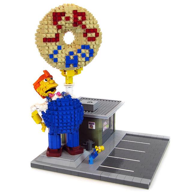 LEGO Springfield - Lard Lad Donuts