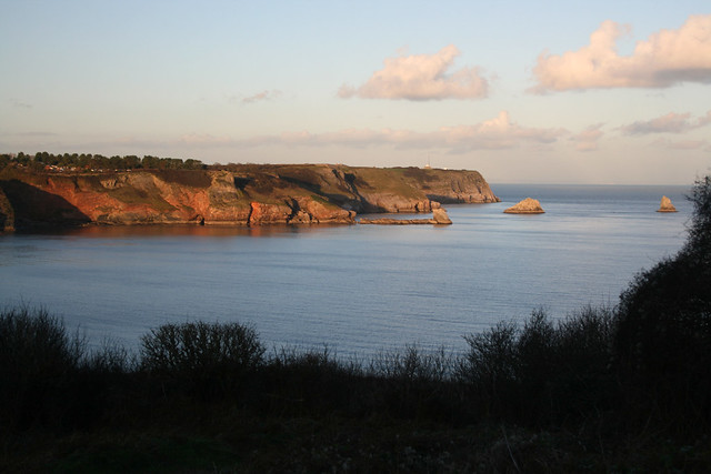 View from Sharkham Point, Devon