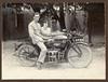 Johan Cornelis Hak en verloofde, Soerabaja, Java 1924
