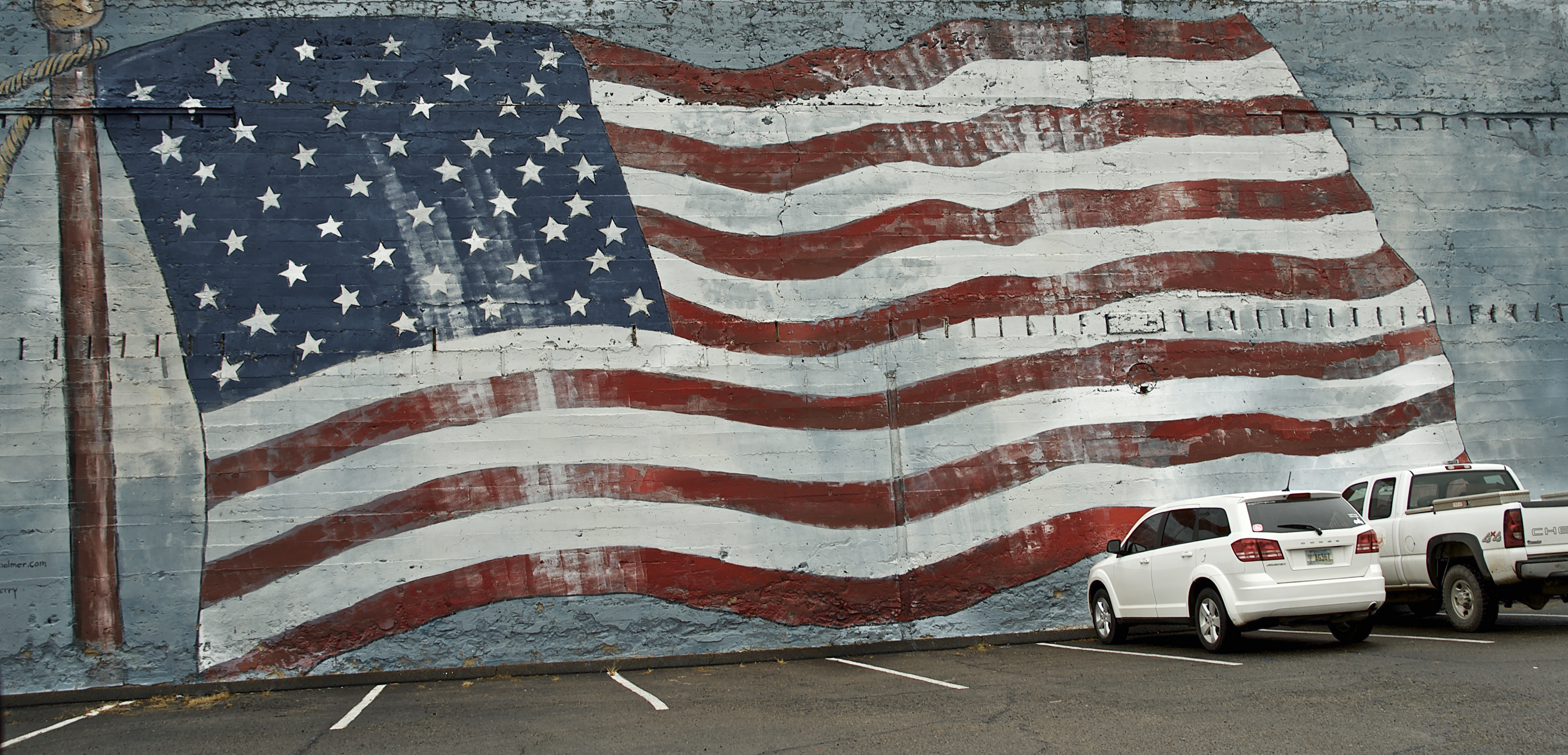 American flag wall mural flickr photo sharing for American flag wall mural