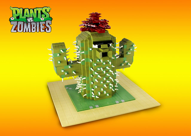 Plants Vs Zombies Cactus