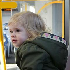 Love this girl so much #mybeautifulbaby #sydneytrains #justchillin