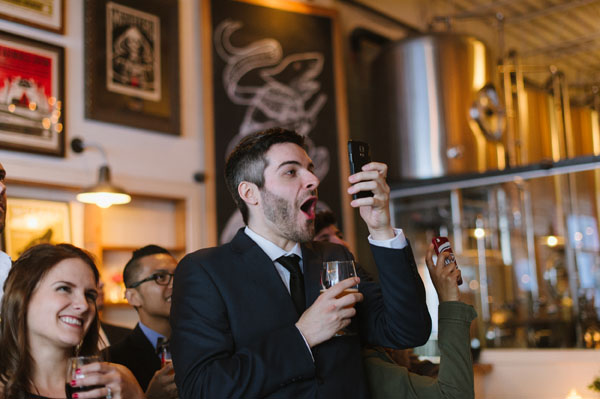 Celine Kim Photography Bellwoods Brewery intimate city wedding Toronto vintage ttc streetcar-121