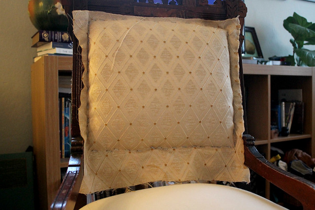 Eastlake Chair Reupholstery