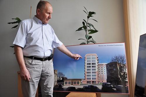 «Рівненчанка» хоче будувати дев'ятиповерхівку на руслі Усті