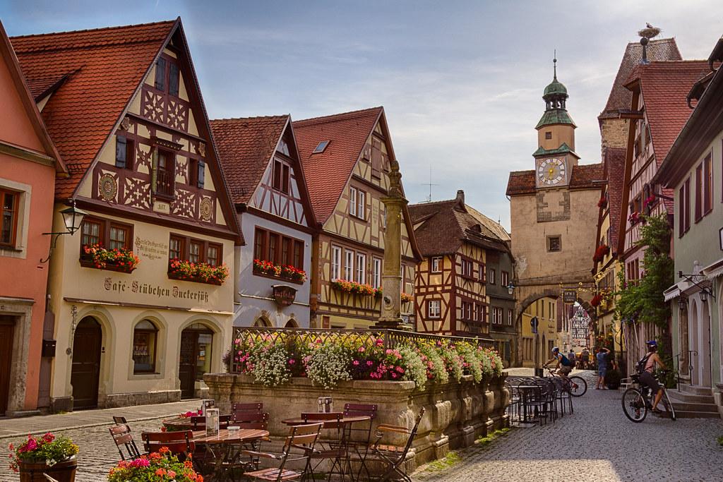 Rothenburg ob der Tauber (Rödergasse)