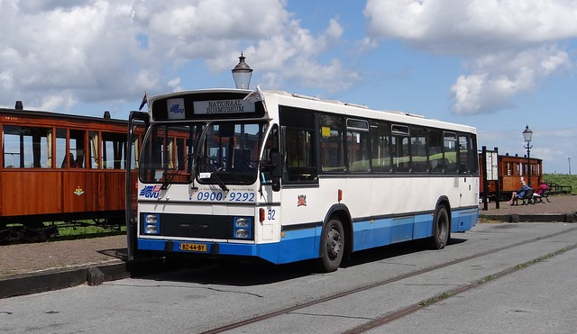 Medemblik. GVU 52 busmuseum