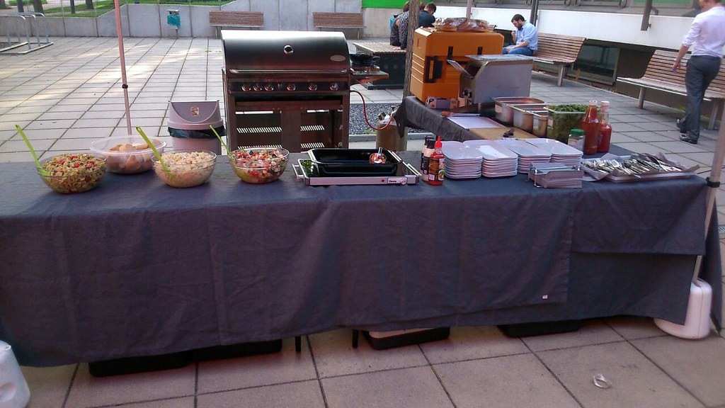 """#HummerCatering #Institutfuertransportlogistik #Dortmund  #BBQ #Burger #Grill  #Eventcatering #Event #Catering #Kaffeecatering http://goo.gl/lM2PHl • <a style=""""font-size:0.8em;"""" href=""""http://www.flickr.com/photos/69233503@N08/19872137776/"""" target=""""_blank"""">View on Flickr</a>"""