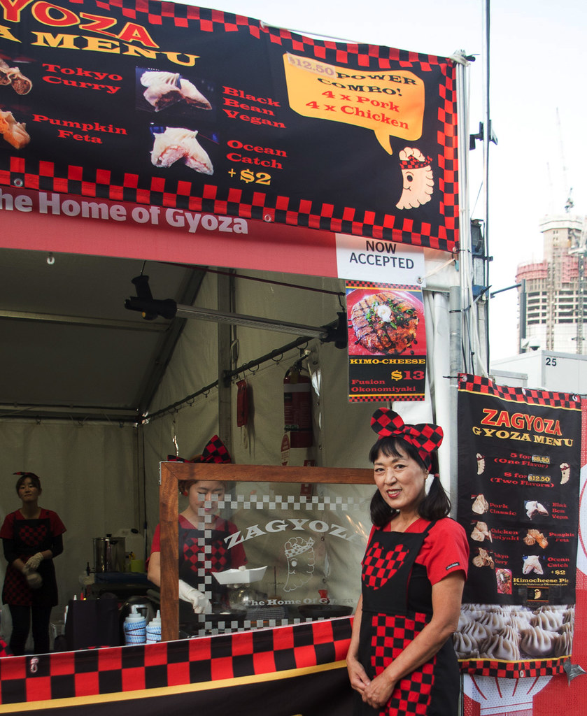 Zagyoza - House of Gyoza - Brisbane Night Noodle Market 2015 at South Bank, Brisbane QLD Australia