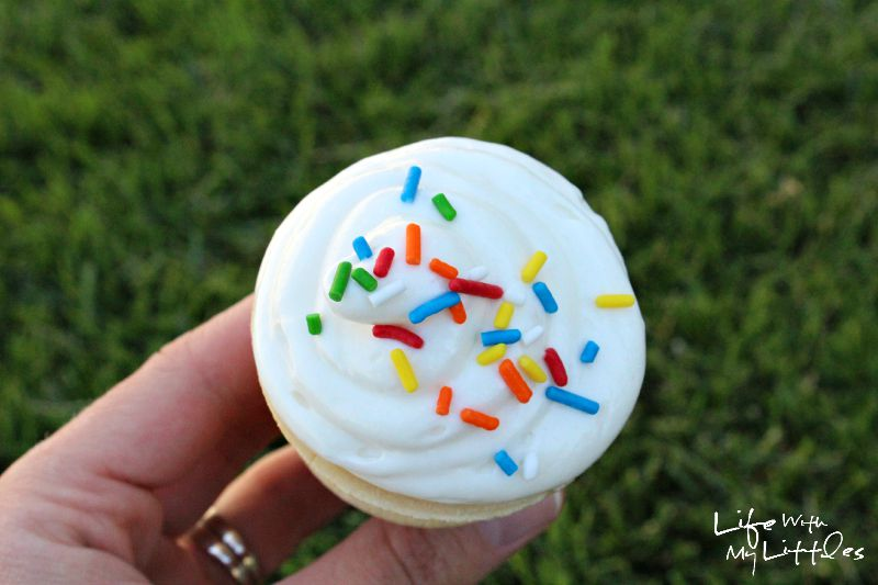 These ice cream cupcakes are the perfect summer treat! It's so cute how she bakes the cupcakes in ice cream cones!