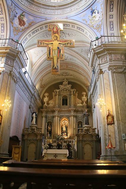 Iglesia San Francisco.  Salta, Argentina.