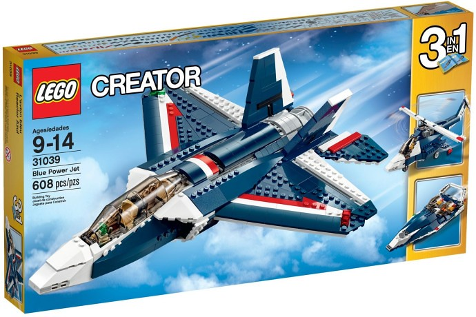 LEGO 31039 Blue Power Jet