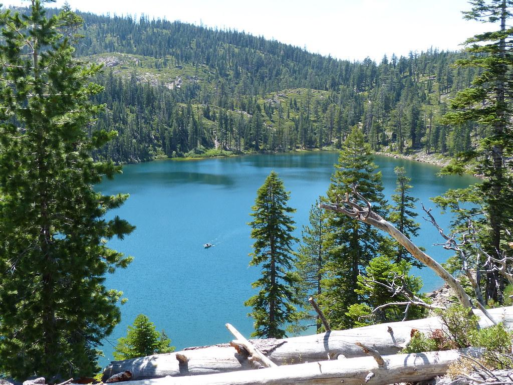 Oarsman on Smith Lake