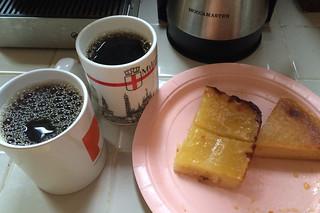 Santa Cruz Coffee Roasting - Santa Cruz dark pairing cassava cake