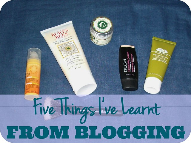 Five Things I've Learnt From Blogging