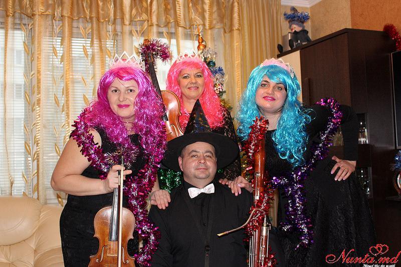 """""""Creativ"""" Cvartet - echipă de muzicieni profesioniști cu o bogată experiență în domeniu. > Foto din galeria `Merry Christmas & Happy New !`"""
