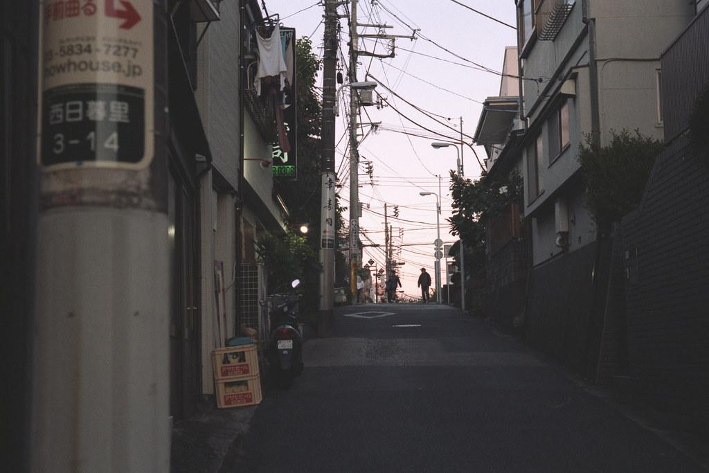Nippori (setting sun to town)