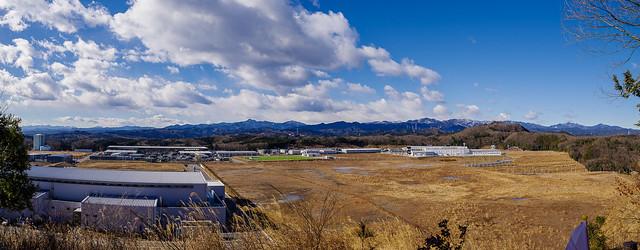 燧山展望台からの眺め