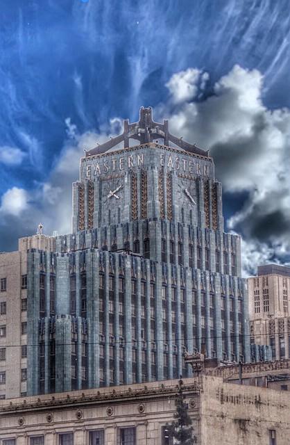 Los Angele California  ~ Eastern  Columbia Building  ~  Eastern Columbia Lofts