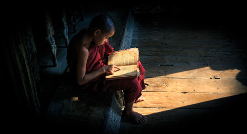 'Learning how to monk'
