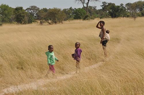 africa grass landscape locals village botswana tallgrass villagers natives southernafrica localscene okavangodelta