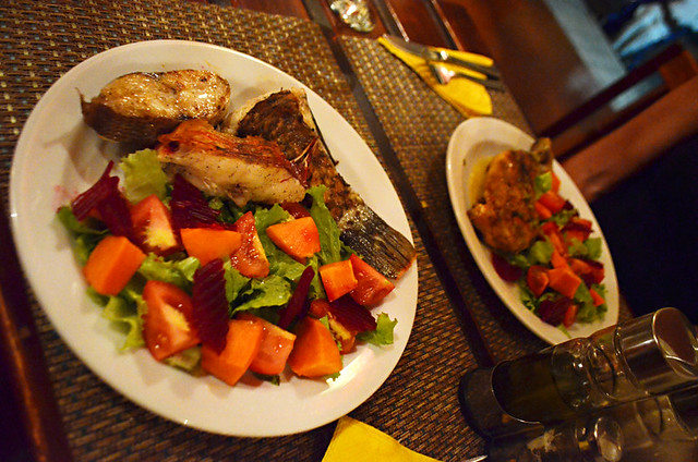 mixed fish grill, Black Cat Cafe, Punto do Sol, Santo Antao, Cape Verde