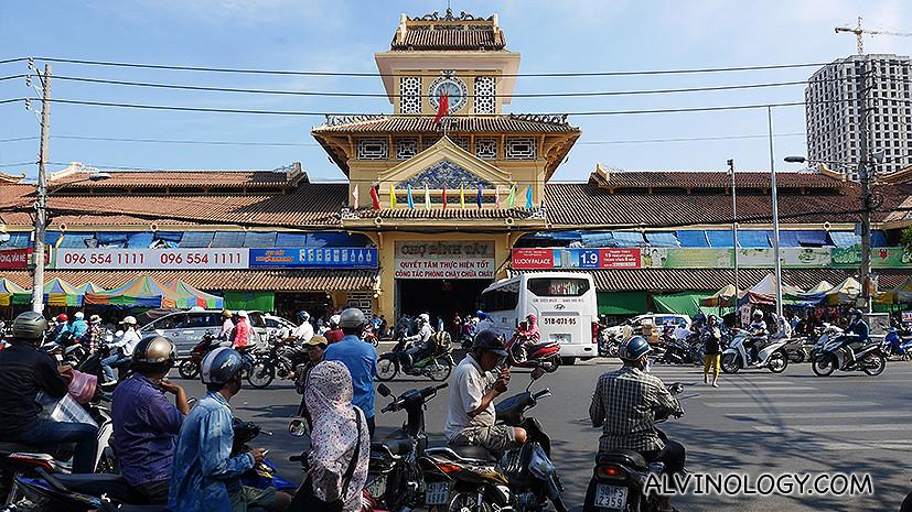 Binhtay Market in Cho Lon