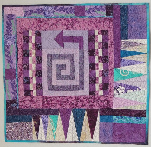 Finished Quilt 4 - 2015 Cotton Robin