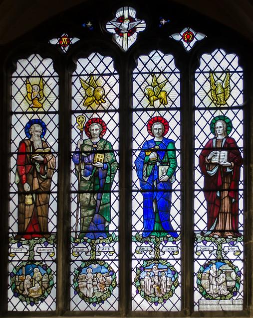 Header of All Saints' Church, Stamford