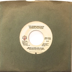 THE DOOBIE BROTHERS:WHAT A FOOL BELIEVES(45)(JACKET A)