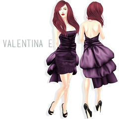 NEW! Valentina E. Debutante Dress Exclusively at July FaMESHed!