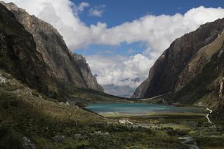 Llanganuco Orconcocha.  Lago 69.  Peru.