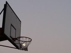 Three-point shot moon ;)