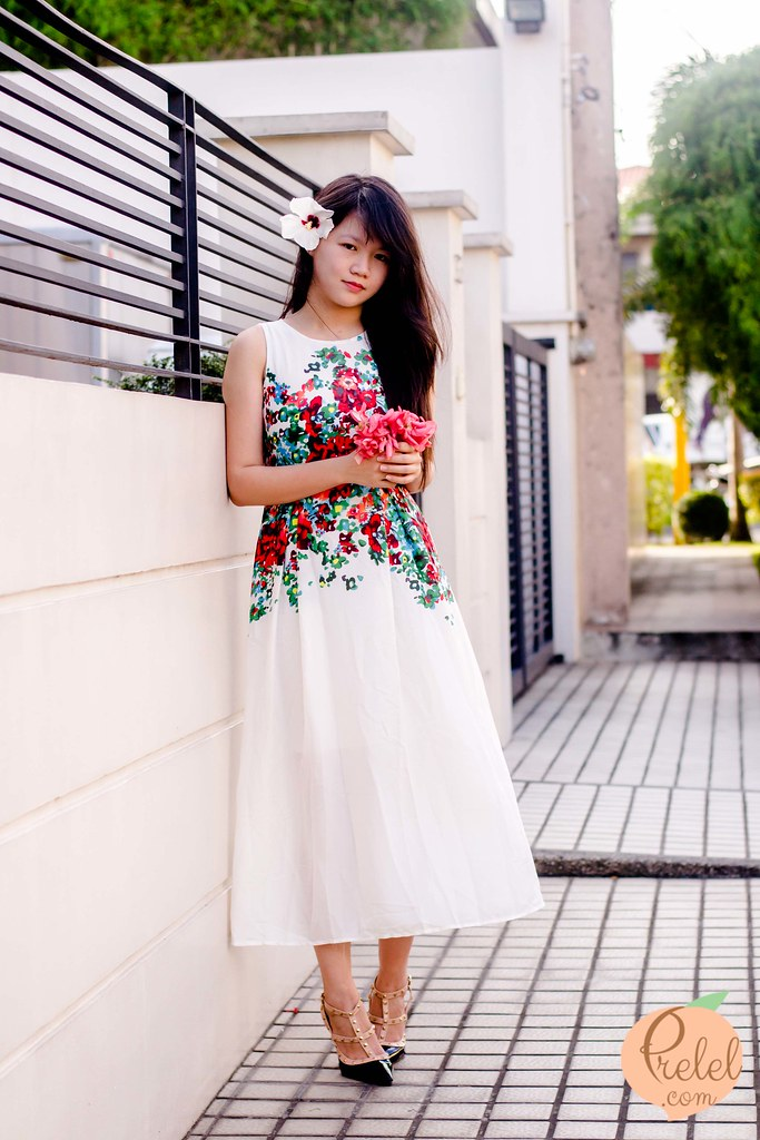 Floral Flurry outfit post