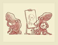 Cephalopod Portrait Painter