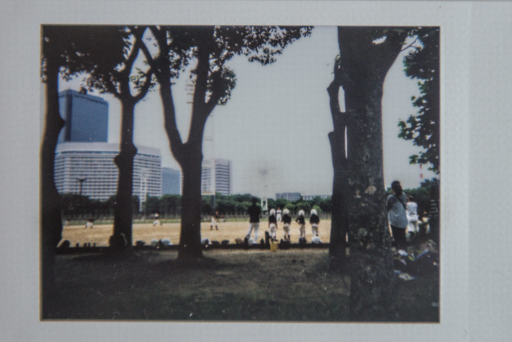 japan instax | baseball in osaka