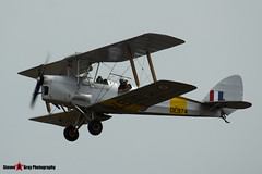 G-ANZZ DE974 - 85834 - Private - De Havilland DH-82A Tiger Moth II - Duxford, Cambridgeshire - 150703 - Steven Gray Stevipedia - IMG_5681