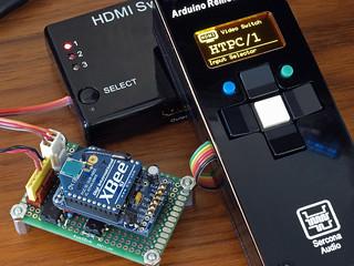 DIY: Arduino + zigbee for HDMI Remote Control