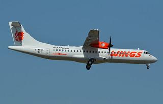 ATR.72-600 WINGS AIR F-WWEX 1271 TO PK-WHJ 03 08 15 TLS