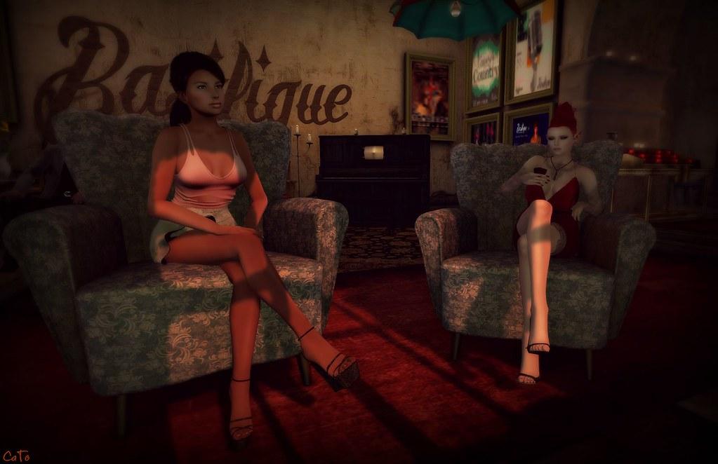 Basilique Salon - I - Becky and Caity