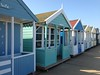 Beach huts, Southwold, UK