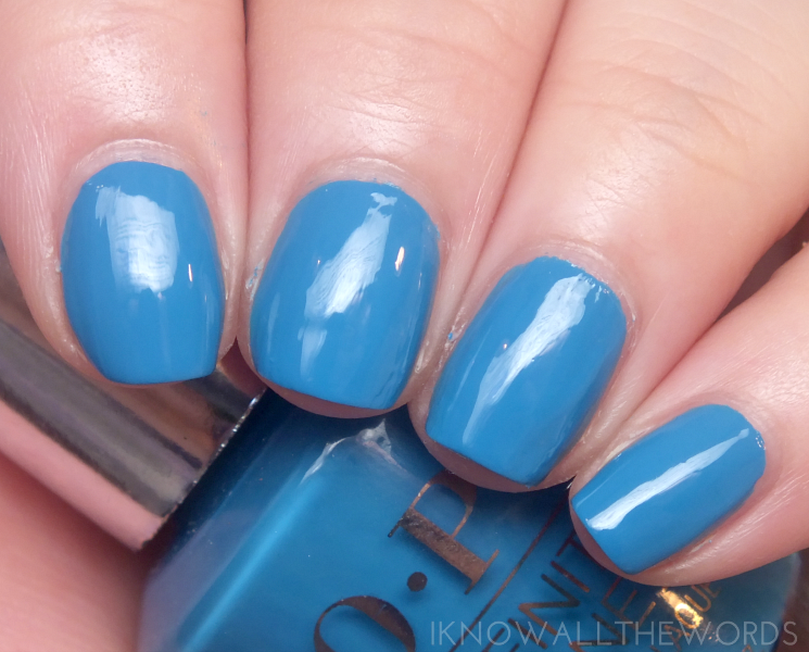 OPI infinite shine summer 2015 wild blue yonder