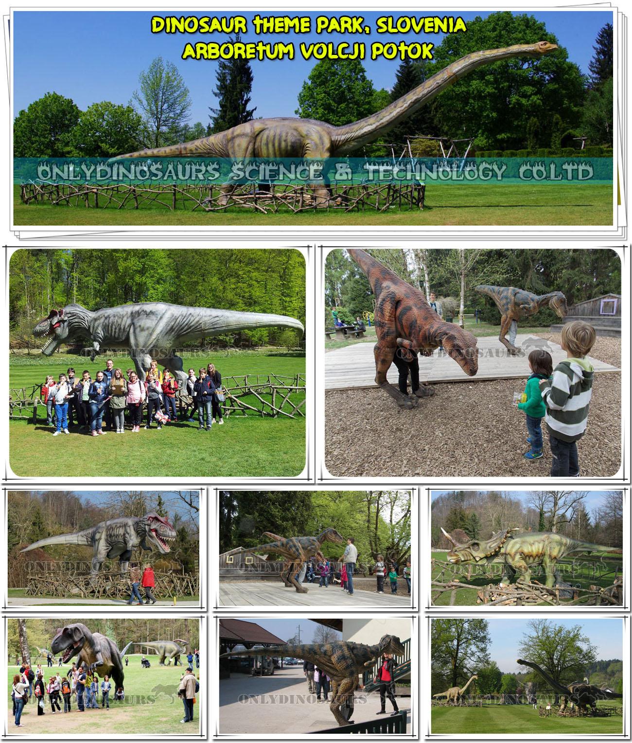 Dinopark in Slovenia