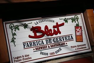 Blest Brewery.  Bariloche, Argentina.