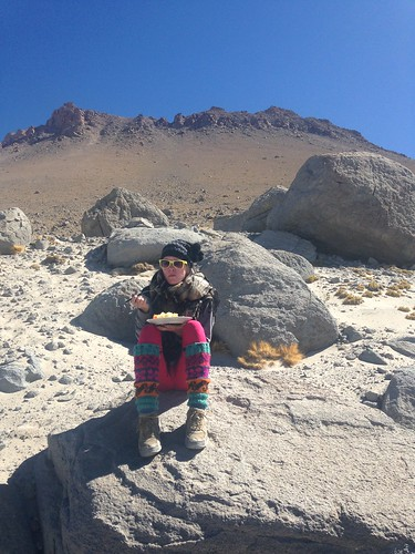 Lunch.  Uyuni, Bolivia.