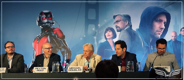 The Establishing Shot: MICHAEL DOUGLAS TALKS CREATING HANK PYM'S CHARACTER @ THE ANT-MAN EUROPEAN PRESS CONFERENCE - CORINTHIA HOTEL LONDON