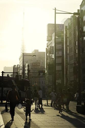 Sunset in Minato