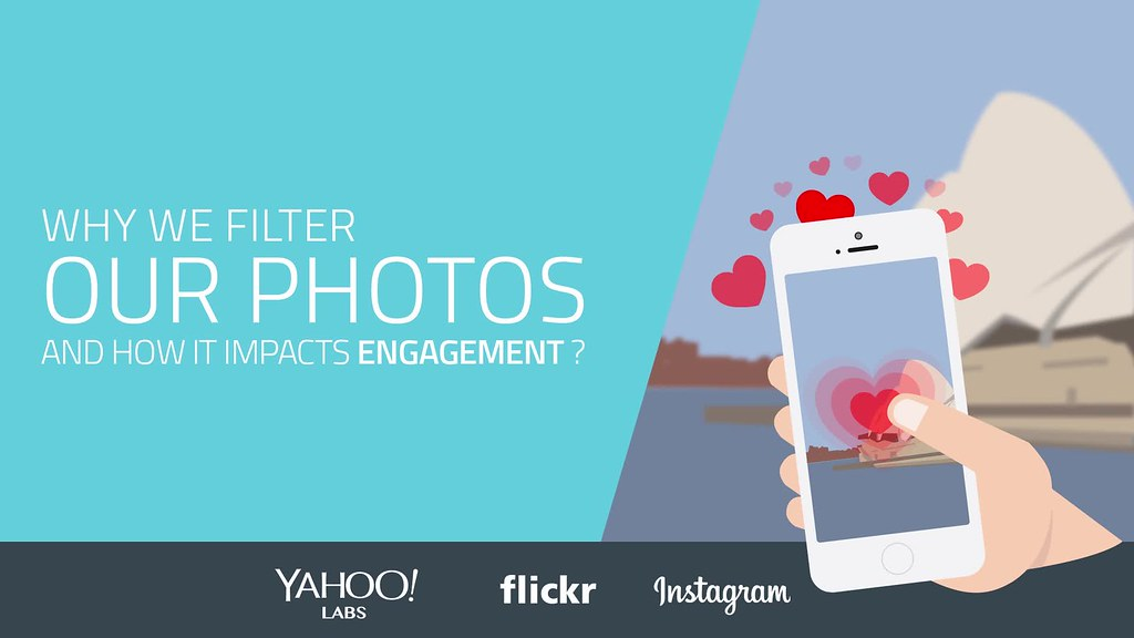 Why we filter our photos and how it impacts engagement - Yahoo Labs / Instagram / Flickr
