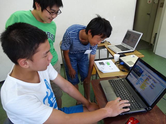 ファミリオ夏期中高プログラミング教室